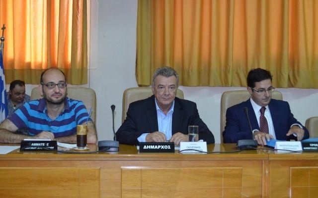Μπρουσκέλης, Μοσχοπούλου, Σπυρίδης το νέο προεδρείο του Δημοτικού Συμβουλίου Αλεξανδρείας