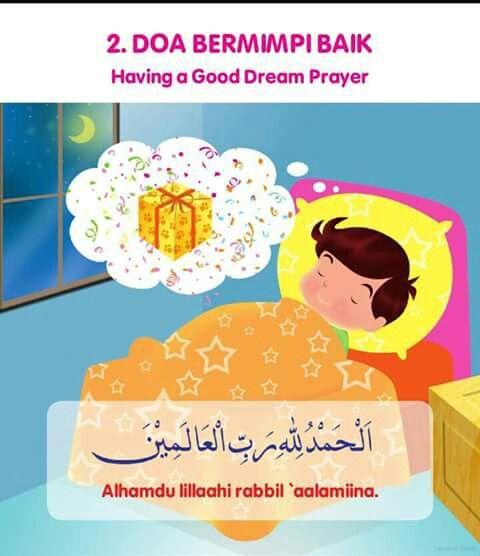 Do'a bermimpi baik
