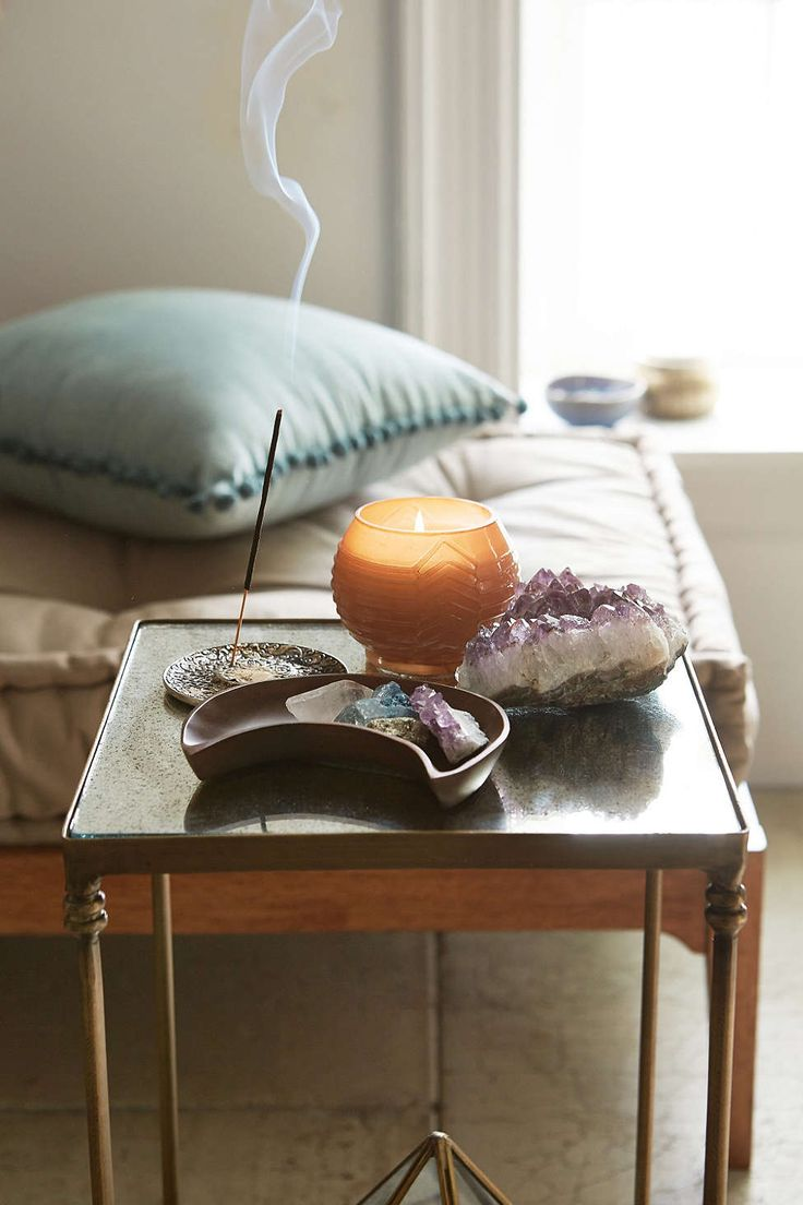 Georgina Speckled Mirror Side Table   Urban Outfitters