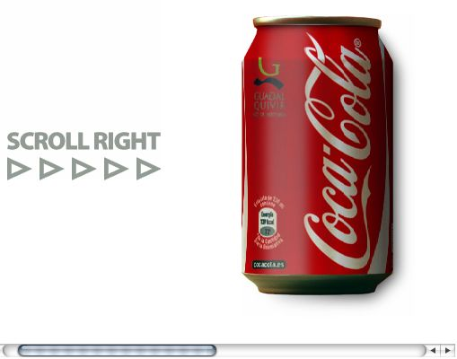 Pure CSS Coke Can by Román Cortés  Insane!