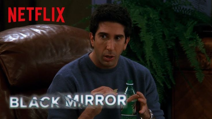 Black Mirror & Friends | The One Where Ross Invents San Junipero