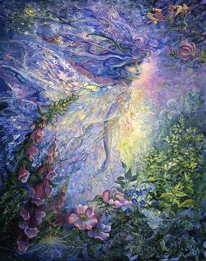 I think I saw a Fairy - Josephine Wall: