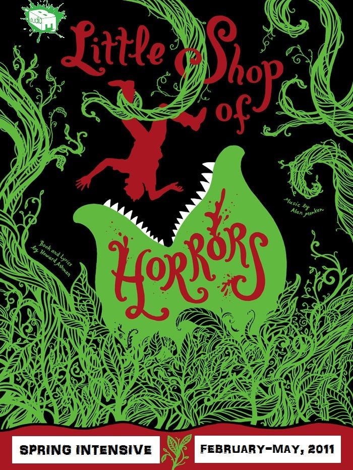 Excellent little shop of horrors poster