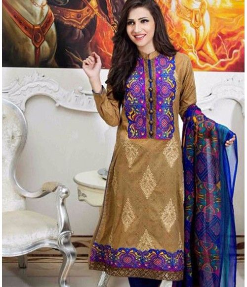 Tawakkal Embroidered Suit Verve Fancy Collection 3014_A