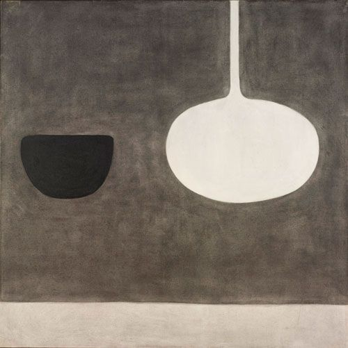 William Scott, Still Life Within a Space, 1970.
