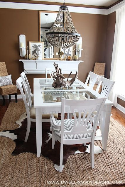 Best 25+ Brown Dining Rooms Ideas On Pinterest | Brown Paint, Diy Dining  Room Paint And Bedroom Wall Paint Colors