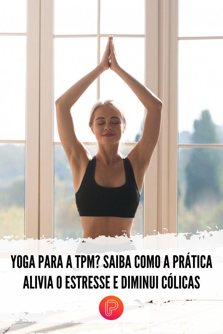 Durante o período menstrual, algumas posições de yoga ajudam bastante a diminuir as dores da cólica, ativando a circulação sanguínea e massageando a região do útero. Confira as dicas do Purepeople! Bra, Yoga Positions, Body Care, Mental Health, Stress, Bra Tops, Brassiere