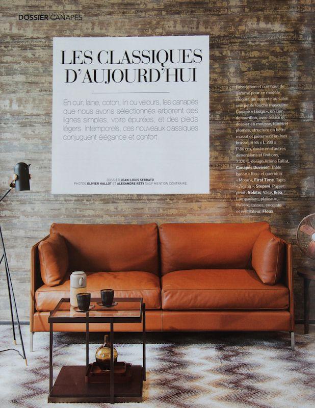 1000 images about canap s et fauteuils cuirs duvivier par for Canape duvivier
