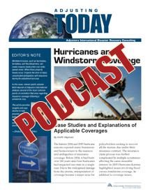 Hurricane Matthew has left many property owners and policyholders full of questions. Our experts answer common coverage issues and how to overcome them in this podcast episode #HurricaneMatthew #Hurricane #FEMA #Flood #Insurance #Claims #Emergency