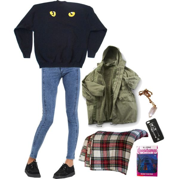 you're a lil bit creepy, but i like it by baklava on Polyvore featuring Motel