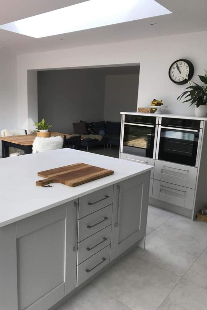 Mistral Aria Work Surfaces Create A Magnificent Kitchen Island