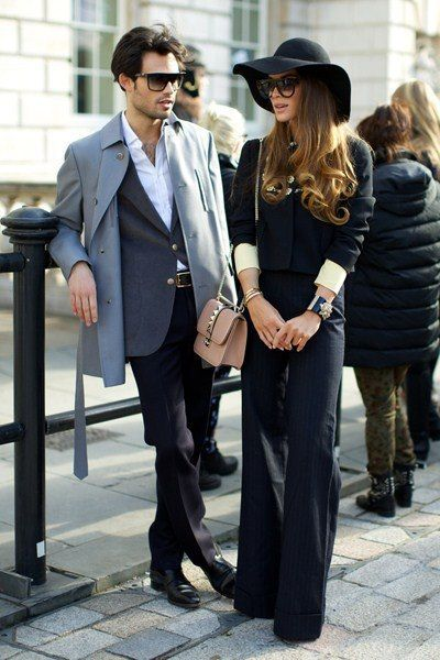 Amazing, both of them!  #menswear #womenswear