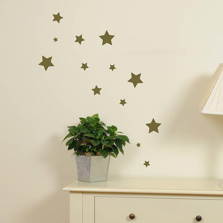 set of mini star stickers by leonora hammond | notonthehighstreet.com