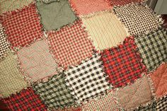 *Detailed* Rag Quilt Instructions. Gives how many squares needed to make a certain size blanket, like twin, queen etc.