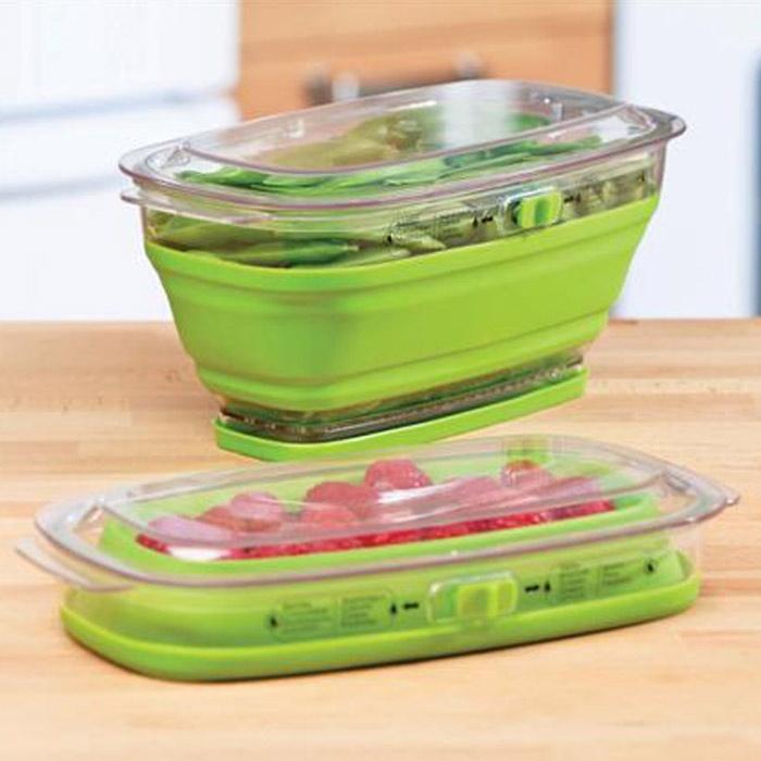 Pote para Conservar Frutas e Vegetais Dobrável 3,8 L :: Que Cozinha!