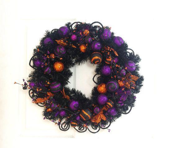 78 ideas about purple wreath on pinterest door wreaths wreath making and grapevine wreath. Black Bedroom Furniture Sets. Home Design Ideas