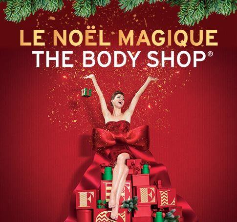 #Thebodyshop revient pour vous proposer un nouveau Moment pour Noël #NoëlTheBodyShop !