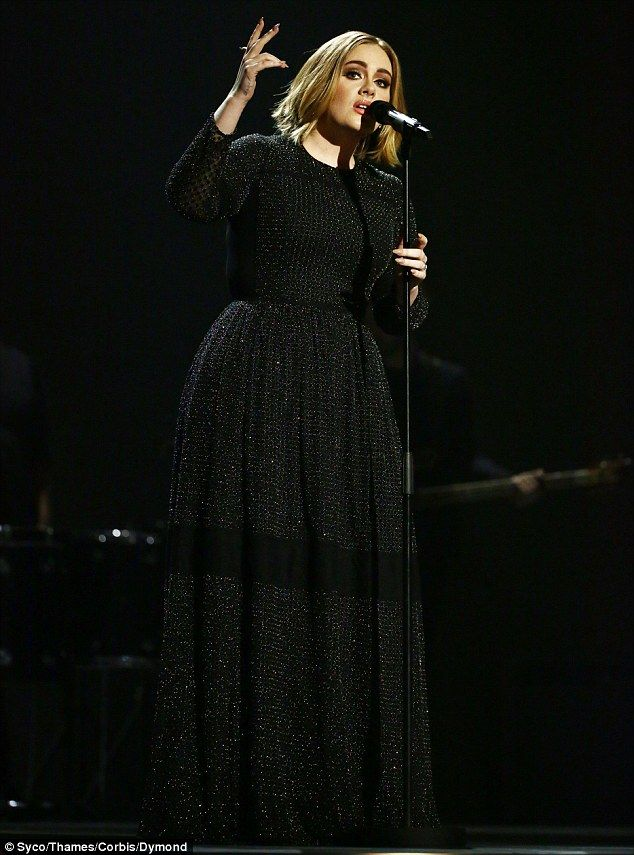 Ready to hit the road: Adele, pictured at the X Factor final last month, is gearing up for...