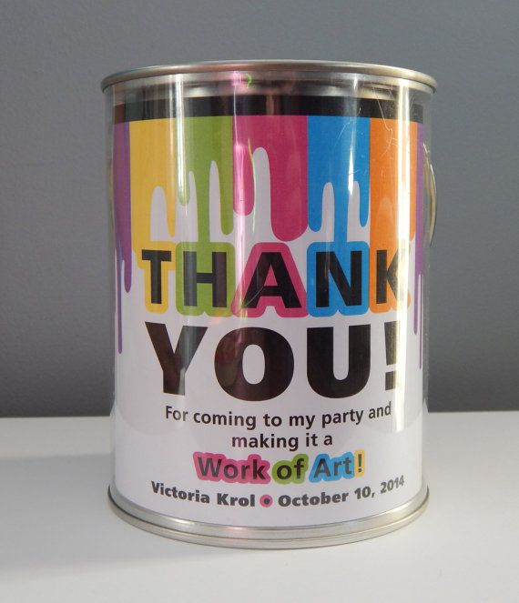 Hey, I found this really awesome Etsy listing at https://www.etsy.com/listing/177278191/art-party-paint-bucket-label