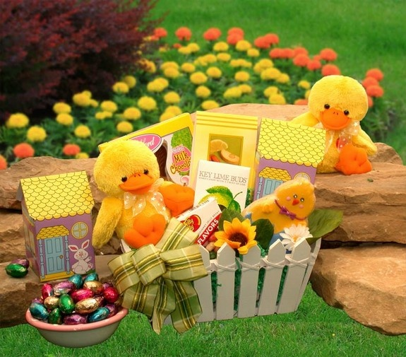 Easter gifts and spring gift ideas 103 duck a doodle easter gift basket negle Image collections