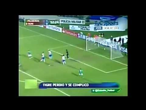 FOOTBALL -  Palmeiras 2 vs Tigre 0 - Resumen Estudio Futbol - Copa Libertadores 2013 - http://lefootball.fr/palmeiras-2-vs-tigre-0-resumen-estudio-futbol-copa-libertadores-2013/