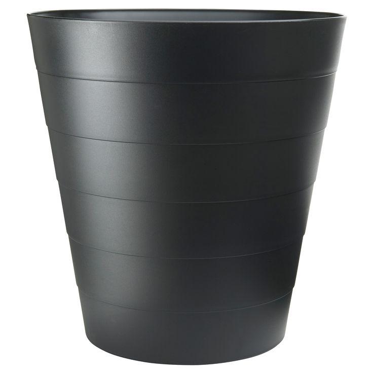 Fniss corbeille papier noir - Corbeille a papier ikea ...