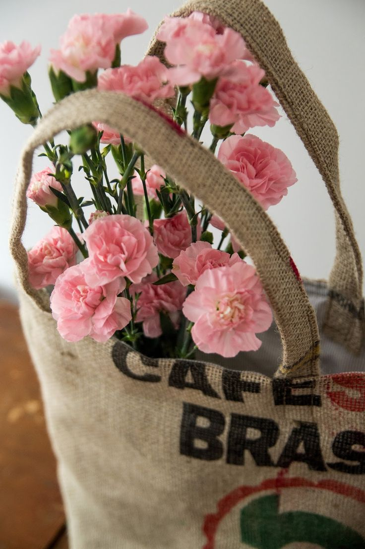 Coffee sack bag / Coffee bag tote