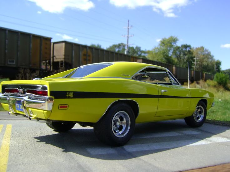 1969 440 Magnum Dodge Charger.