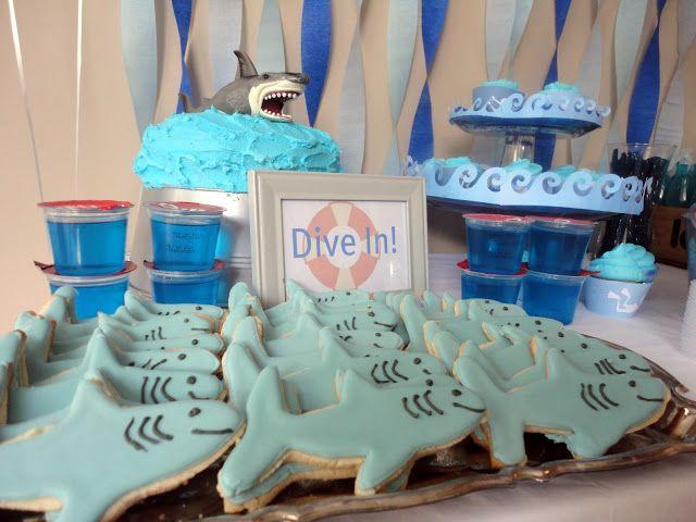 Studio 206: Shark / Scuba Birthday Party