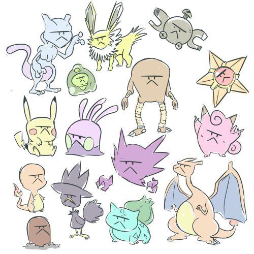 pokemon w/ shroomish's face. important