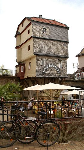 Bad Kreuznach, Brückenhaus (bridge house)