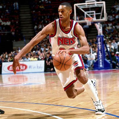 Kerry Kittles born June 12, 1974 is a former guard who played in the NBA from 1996-2005 for the New Jersey Nets and the Los Angeles Clippers. He was selected by the New Jersey Nets with the eighth pick in the 1996 NBA Draft. St. Augustine High School alum.