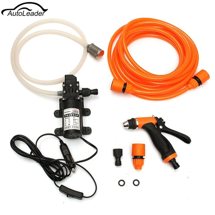 37.74$  Buy now - http://alivvj.shopchina.info/1/go.php?t=32807041811 - Hot Sale 12V Portable 80W 116PSI High Pressure Washer Car Home Garden Electric Washer Wash Pump Tanks  #buyininternet