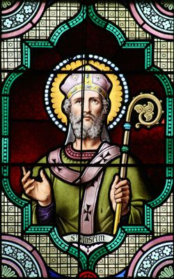 Saint Anselm of Canterbury, Roman Catholic Priest, Archbishop of Canterbury and Doctor of The Church. Feastday April 21