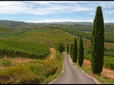 La Toscana e Bocelli  A wonderful Tuscan Singer that loves his country , Tuscany
