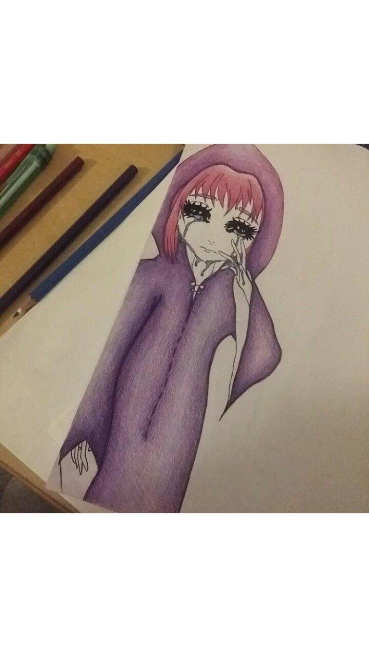 Sad Little Witch - By Nelda v.d Colf  ( TorakiChewi )