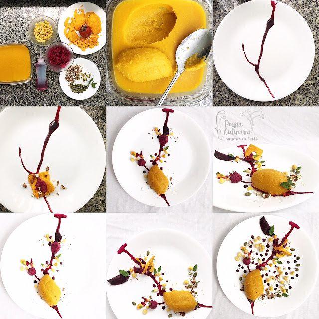 Paladares {Sabores de nati }: Armonía vegetal. Calabaza, zucchinni, chontaduro, remolacha, maíz...    #pumpkin  #calabaza #Zucchini #calabacín #chontaduro #remolacha #maíz, #mazorca queso crema #almendras #semillasdegirasol #menta #albahaca #balsámico #retoveoveo