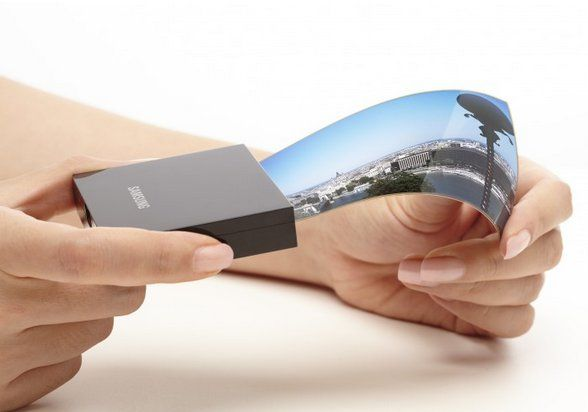 Samsung announces its own flexible display, lighter and thinner than LG's
