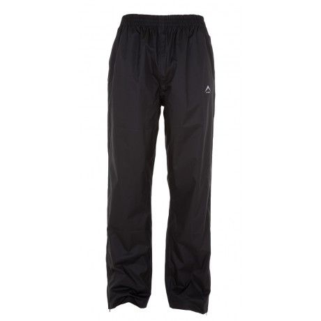 K-Way's Rain Trousers are basic shell trousers made from polyester microfibre with a PU milky coating. Completely waterproof, windproof and seam-sealed, they feature an elasticated waistband for enhanced comfort and side leg zips for easy boot access. The trousers are packable into their back pocket, making them easy to store and carry.
