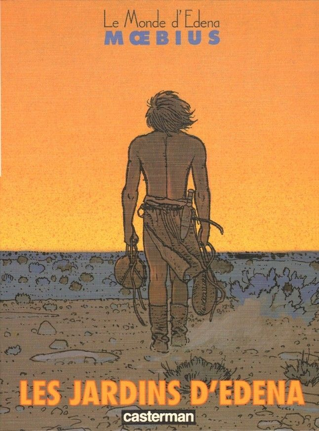 #Moebius - Cycle of #Edena - six books on which Moebius worked the last fifteen years of the twentieth century, stealing free months between international media projects and his life sentence, which for him represented the work of the Lieutenant Blueberry. Eden is Moebius cleaning: it is obvious graphical and seductive at first glance, but only the outer expression of the author's instinctive quest for contemplative and spiritual purity, to the creation of peace.
