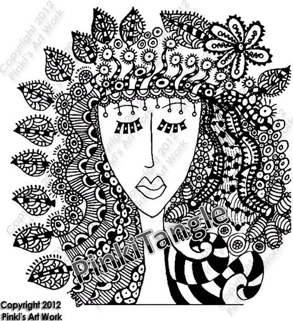 doodle art by MIRAKRIS on Etsy