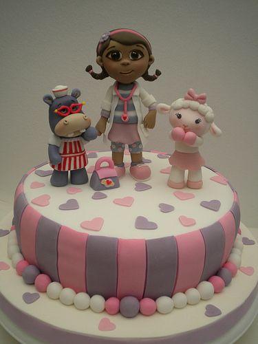Torta Doctora Juguetes | Flickr: Intercambio de fotos