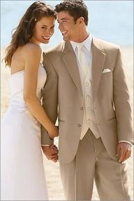 brown groomsmen suits with pink ties - Google Search