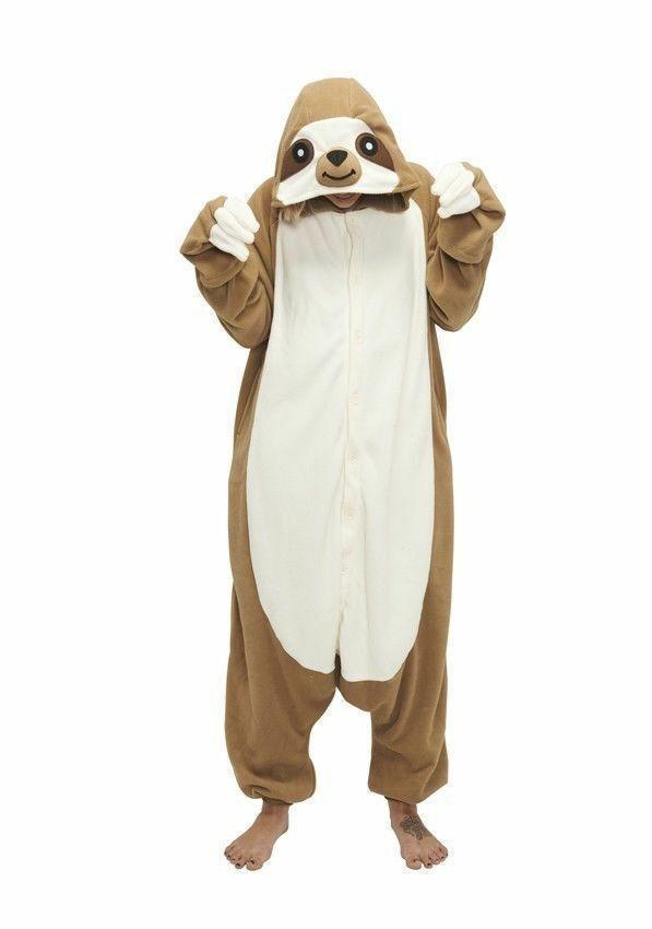 Sloth Kigurumi Anime Cosplay Pyjamas Costume Onesiz Adult Jump Fancy Dress