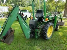 JOHN DEERE 750 TRACTOR W/JD LOADER & JD7 backhoe GREAT TRACTOR finance tractors www.bncfin.com/apply