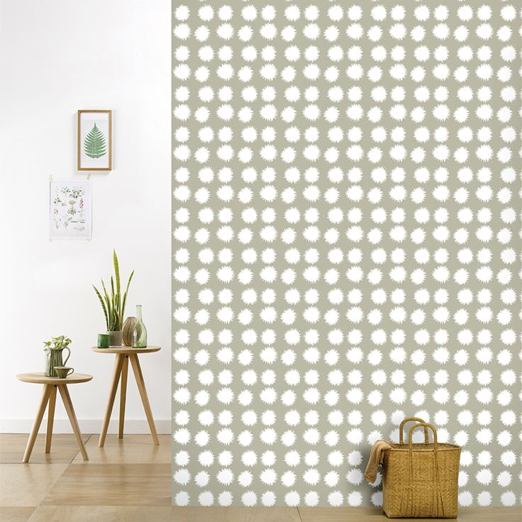 Roomblush behang wallpaper fluff kaki behangpapier woonkamer slaapkamer interieur design