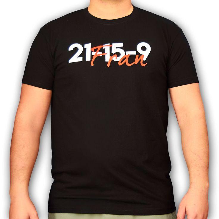 Camiseta crossfit fran 21-15-9