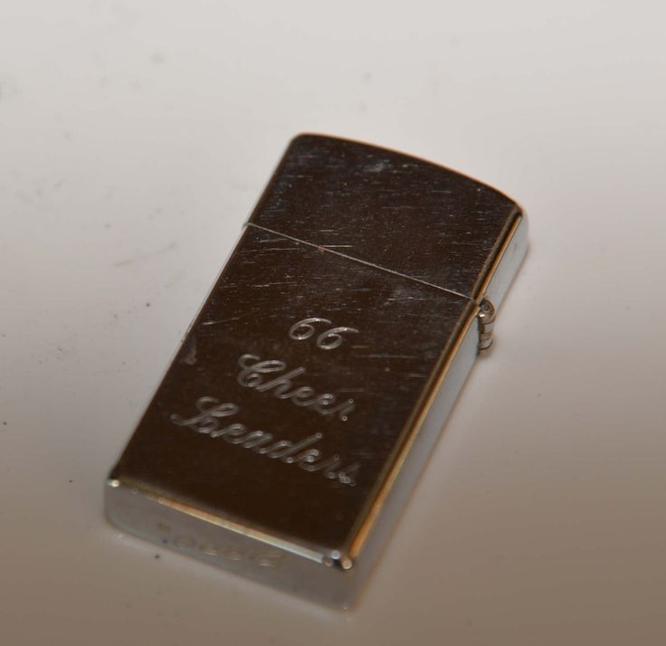 1965 Zippo Slim Egnraved 1966 Cheer Leaders Vietnam Era - AMB initials Stainless by justbecauseshecan on Etsy