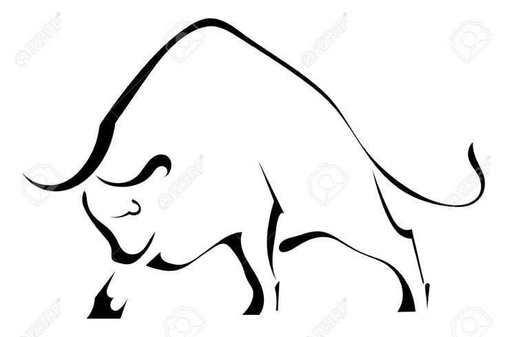 Image from http://previews.123rf.com/images/larser/larser1404/larser140400025/27324346-Black-silhouette-of-a-strong-wild-bull-Stock-Vector-taurus.jpg.