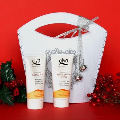 A wonderful organic present!Confezione creme viso Alva - 0512